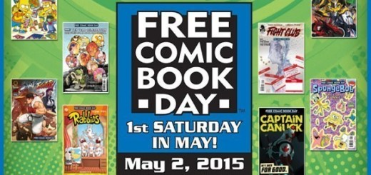 Free Comic Day Logo